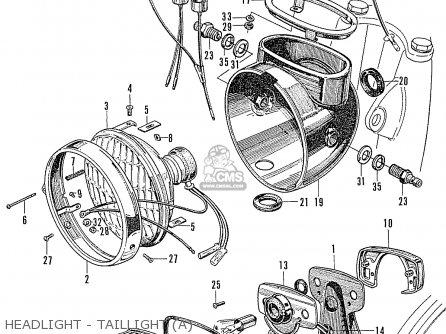 Partslist on Honda Cb160 Wiring Diagram