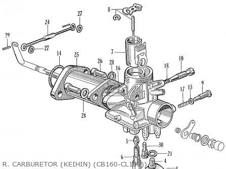 cb160 wiring diagram wiring diagram 1971 honda 750 four honda cb160 sport general export parts list partsmanual partsfiche
