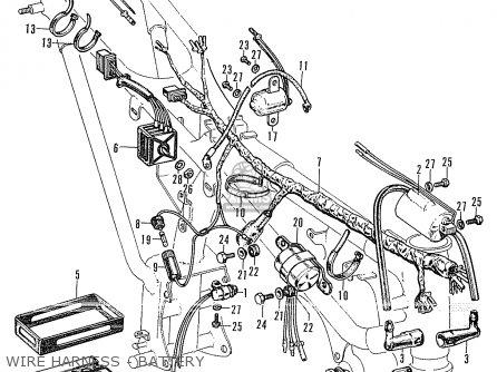 honda cb175 super sport  k0  parts list partsmanual partsfiche