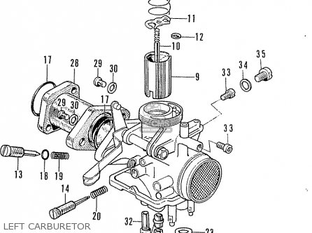 Wiring Diagram For Honda Sl100