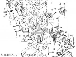 honda cb200 general export parts lists and schematics