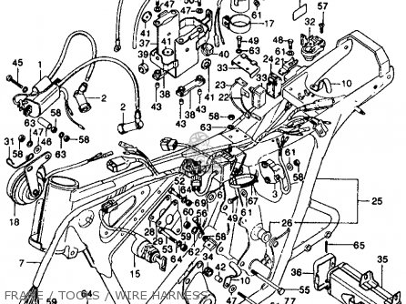 Yamaha Outboard Digital Gauges Wiring Diagram furthermore 345975 Eton Viper 40e Please Help Electrical Issues moreover Wiring Diagram 50 Ktm as well Muffler Cb Schematic Honda Cb350 Super Sport 350 K3 1971 Usa as well Repair And Service Manuals. on honda scooter wiring diagram