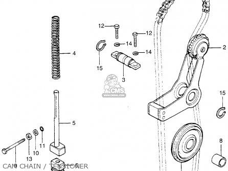 Honda Cb200t 1975 Usa Cam Chain   Tensioner