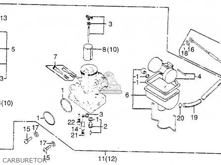 Honda Cb200t 1976 Usa Carburetor