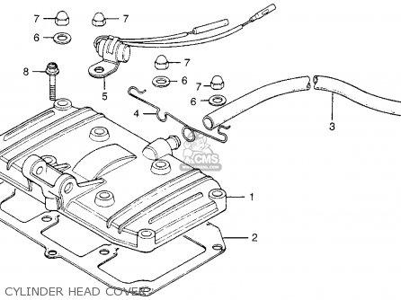 Honda Cb200t 1976 Usa Cylinder Head Cover