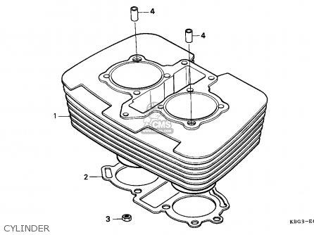 Honda Cb250 1996 T England Mph Parts Lists And Schematics