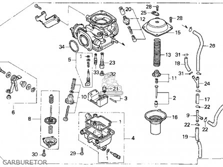Honda Rebel Carb Diagram