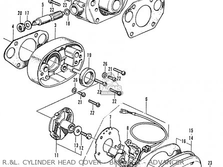 Honda Cb250k2 General Export Parts Lists And Schematics