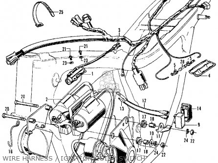 Wiring Diagram For 1970 Honda Ct70 on honda trail 70 wiring diagram