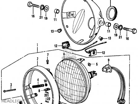 Honda Cb 350 Engine Exploded Diagram