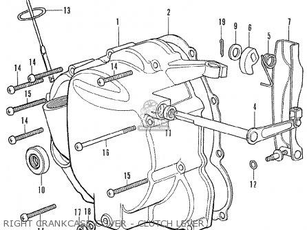 Wire Harness Schematic Honda Cb350f Four European Direct Sales