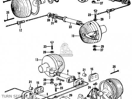 Partslist on 1972 Honda Cb500