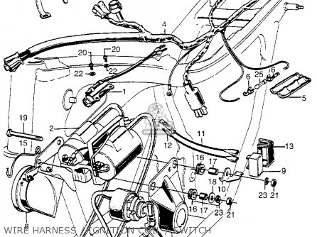 honda cb350g super sport 1973 usa parts lists and schematics. Black Bedroom Furniture Sets. Home Design Ideas