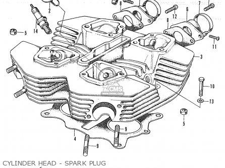 Honda Cb350 4 Cylinder Engine