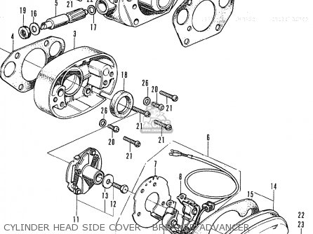 Partslist further Honda Cb750 Engine Cutaway as well Honda Gl1000 Wiring Diagram furthermore Partslist together with Honda Cb350fcb400f Electrical System And Wiring Diagram 72. on honda cb350 parts