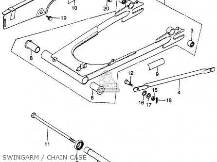 Honda Cb Sport Usa Swingarmchain Case Mediumhu F