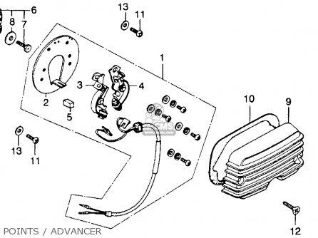 honda cb360t 1976 usa parts lists and schematics. Black Bedroom Furniture Sets. Home Design Ideas