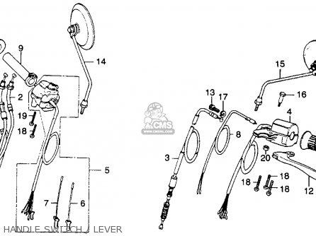 honda cb360tk0 1975 usa parts list partsmanual partsfiche