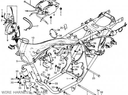 honda cb400f 1977 usa parts list partsmanual partsfiche