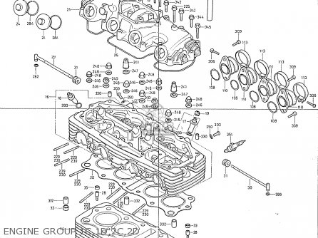 Honda Cb400f France Engine Group 1c 1d 2c 2d