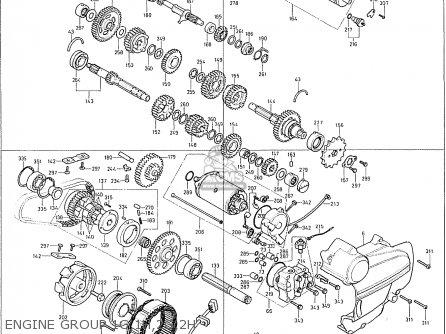Honda Cb400f France Engine Group 1g 1h 2g 2h