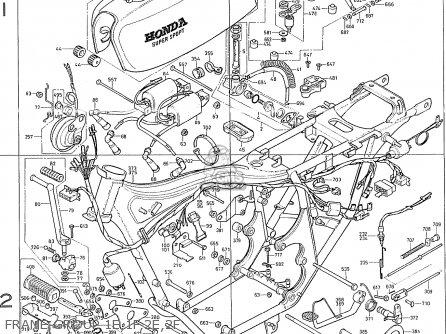 Honda Cb400f France Frame Group 1e 1f 2e 2f