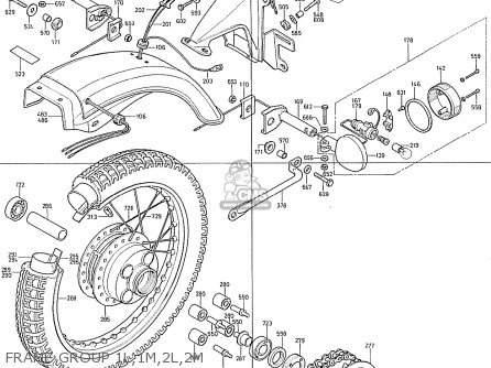 Honda Cb400f France Frame Group 1l 1m 2l 2m