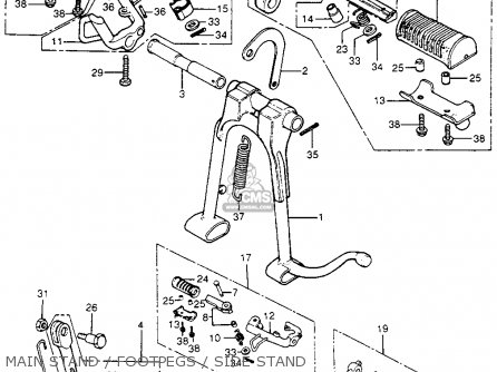 1972 Honda 175 Wiring Diagram