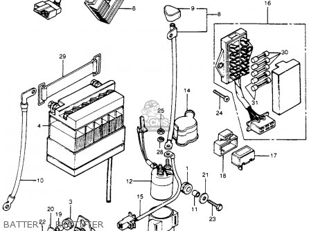 F  24 additionally Honda Cb550k Engine Diagram furthermore 1975 Honda Cb400f Super Sport Wiring Diagram likewise Honda 750 Motorcycle Engine Diagram as well Honda Goldwing 1200 Gl Engine Diagram. on 1976 honda cb750 wiring diagram