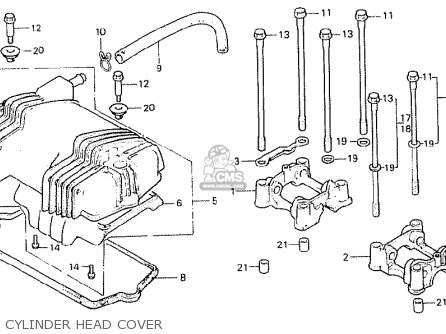 Honda Cb400n Superdream 1980 A England Parts Lists And Schematics
