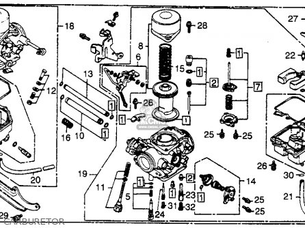 Honda 125 Motorcycle Engine Diagram likewise Kubota Rtv 900 Electrical Wiring Diagram also 1986 Honda Spree Wiring Diagram together with Carter 250 Wiring Diagram in addition E  10. on honda rebel 250 ignition system