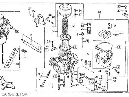 Honda Cb400t-i 1978 canada Carburetor