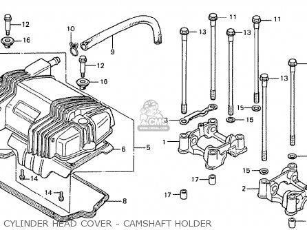 Honda Cb400ti 1978 Canada Cylinder Head Cover - Camshaft Holder