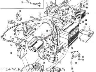 honda cb450 f 14 wire harness battery_medium3IMG01171028_6128 honda cb450 parts lists and schematics