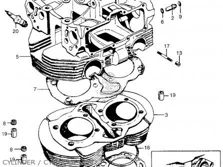 Honda Cb450 Super Sport 450 Black Bomber 1965 Cb450k0 Usa Cylinder   Cylinder Head