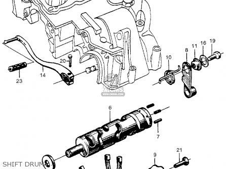 Honda Cb450 Super Sport 450 Black Bomber 1965 Cb450k0 Usa Shift Drum