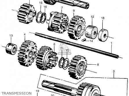 Honda Cb450 Super Sport 450 Black Bomber 1965 Cb450k0 Usa Transmission