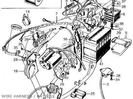 honda cb450k1 1968 usa parts lists and schematics rh cmsnl com Antenna Wiring Diagram CB Radio Wiring