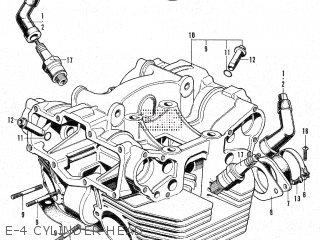 Honda CB450K1 U.S.A parts lists and schematics on