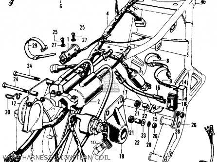 honda cb 175 wiring diagram enthusiast wiring diagrams u2022 rh rasalibre co honda cb 450 wiring diagram Honda Starter Wiring Diagram