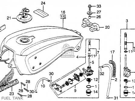 honda cb750 wiring diagram chopper honda atv wiring