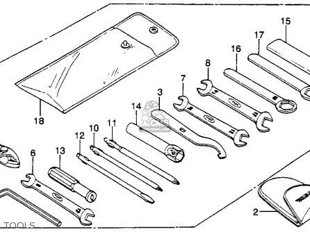 honda cb450sc nighthawk 1985 (f) usa california parts lists and xr650l wiring diagram cb450sc wiring diagram #6