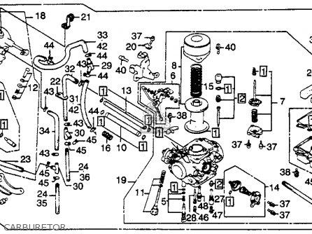 Honda Cb450sc Nighthawk 1985 f Usa Carburetor
