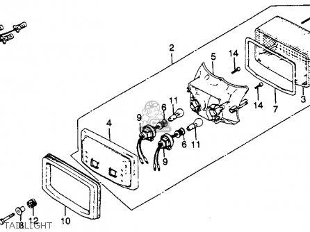 honda cb450sc nighthawk 450 1986 usa taillight_mediumhu0187f9c26_eb04 honda cb 500 1979 wiring diagram honda find image about wiring,Honda Cb 650 Wiring Diagram