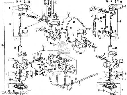 honda cb500k1 four 1972 usa parts list partsmanual partsfiche. Black Bedroom Furniture Sets. Home Design Ideas