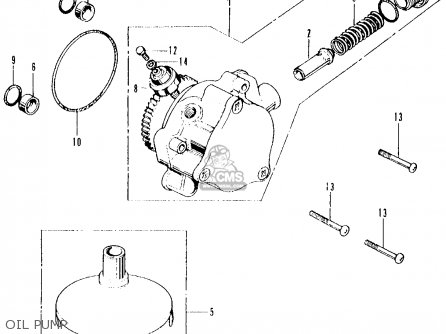honda cb500k1 four 1972 usa oil pump_mediumhu0102e3013_e593 honda cb500 wiring diagram page 5 wiring diagram and schematics