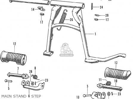 honda cb500k1 four france parts list partsmanual partsfiche. Black Bedroom Furniture Sets. Home Design Ideas