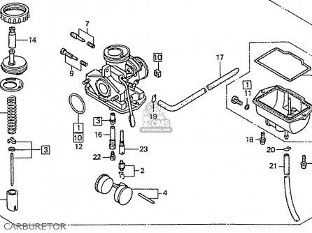honda cb50v dream japan 11gcrvj3 parts lists and schematics rh cmsnl com honda dream 100 parts manual Honda Foreman 400 Parts Diagram