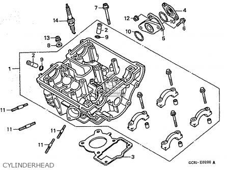 Honda Cb50w Dream Japan 11gcrvj3 Parts Lists And Schematics