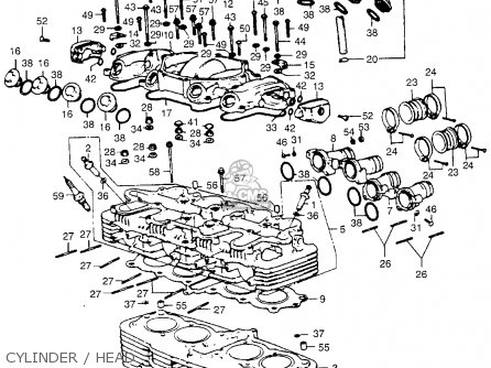 Admirable Honda Cb550 K1 Four 1975 Usa Parts Lists And Schematics Wiring Digital Resources Remcakbiperorg